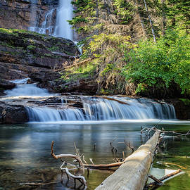 Andres Leon - Glacier National Park Waterfall 3