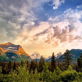 Renee Sullivan - Glacier Valley Sunset
