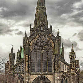 Glasgow Cathedral Front Facade