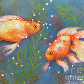 Sharon Nelson-Bianco - Glimmering Goldfish