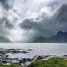 Dmytro Korol - Gloomy day on Lofoten Islands