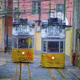 Joan Carroll - Gloria Funicular Lisbon