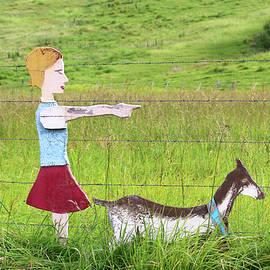 Art Block Collections - Goat Farm Ahead