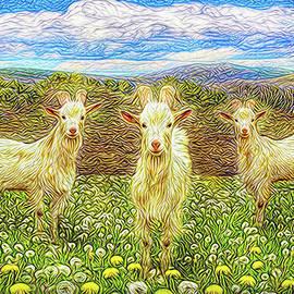 Joel Bruce Wallach - Goats In The Dandelions