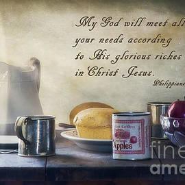 Priscilla Burgers - God Meets All Our Needs