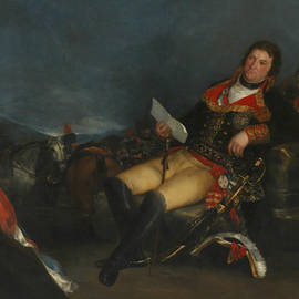 Godoy as General - Francisco Goya