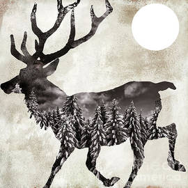 Going Wild Deer - Mindy Sommers