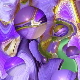 Brooks Garten Hauschild - Orbs of Light - Abstract Iris Marbles