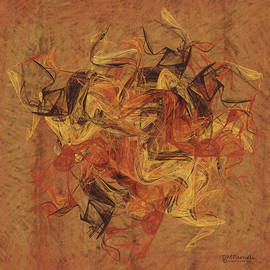 Diane Parnell - Golden Abstract