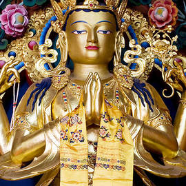 Tim Gainey - Golden Amitaba Buddha Statue