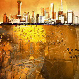 Golden City - Photodream Art