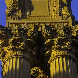 Golden Columns Palace Of Fine Arts - Garry Gay