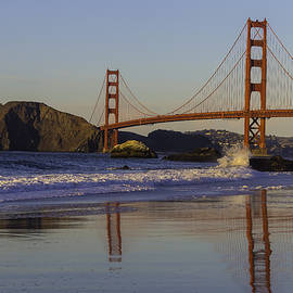 Golden Gate And Waves - Garry Gay