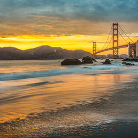 James Udall - Golden Gate Bridge after Sunset