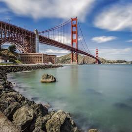 Jennifer Rondinelli Reilly - Golden Gate Bridge and Fort Point - San Francisco, CA