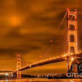 Jim Carrell - Golden Gate Bridge - Nightside