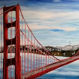 Irving Starr - Golden Gate Bridge San Francisco