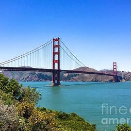 Rincon Road Photography By Ben Petersen - Golden Gate Bridge View from South