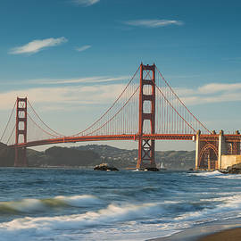 Steve Gadomski - Golden Gate From Baker Beach