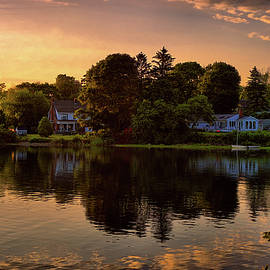 Lilia D - Golden hour New England scenery