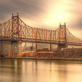 Kenneth Laurence  Neal - Golden Moment on the 59th Street Bridge