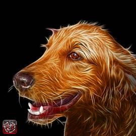 James Ahn - Golden Retriever Dog Art- 5421 - BB