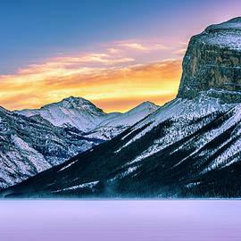 Yves Gagnon - Lake Minnewanka Sunrise