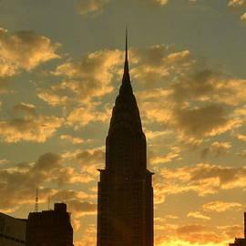 Miriam Danar - Golden Skies - New York Sunset