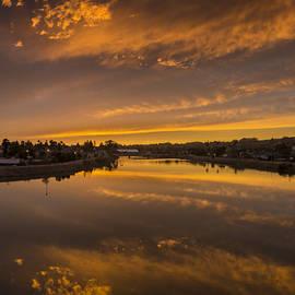 Bruce Frye - Golden Sundown Reflected