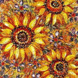 Natalie Holland - Golden Sunflower