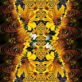 Nancy Pauling - Golden Sunflowers