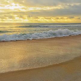 Marianne Campolongo - Golden Sunlight on Peaceful Early Morning Beach