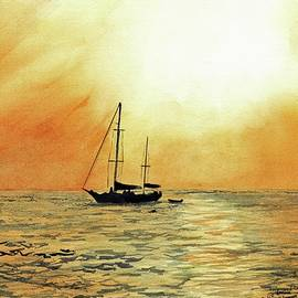 Paul E Temple - Golden Sunset