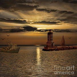 Shirley Mangini - Golden Sunset
