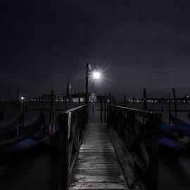 Gondolas in the Night - Andrew Soundarajan