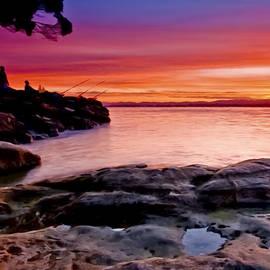 Dr Bob Johnston - Gone Fishing at Sunset