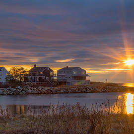 Kirkodd Photography Of New England - Goosefare Brook Sunrise - Saco Maine