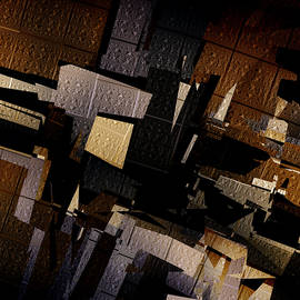 Vic Eberly - Gotham - Abstract Art