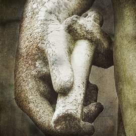 Melissa Bittinger - Gothic Stone Cross Cemetery Angel Hand