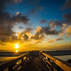 Chris Bordeleau - Goulds Inlet Sunrise