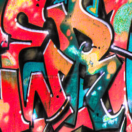 Jacob Brewer - Graffiti close up 1