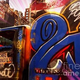 Miriam Danar - Graffiti Truck - N Y C Street Art