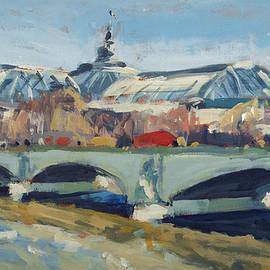Nop Briex - Grand Palace in Winter Paris