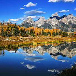 Vishwanath Bhat - Grand Teton autumn beauty