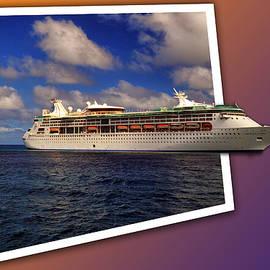 Bill Swartwout - Grandeur of the Seas at Coco Cay