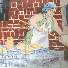 Dy Witt - Grandmother Tile Mural