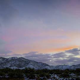 Christian Flores - Snowy Granite Mountain Julian