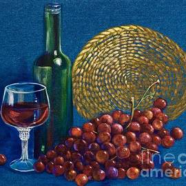 AnnaJo Vahle - Grapes and Wine