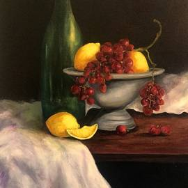 Anne Barberi - Grapes In Pewter