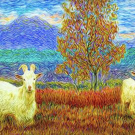 Joel Bruce Wallach - Grassy Meadow Goats